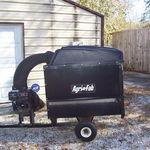 Agri Agri-Fab box trailer leaf  vacuum