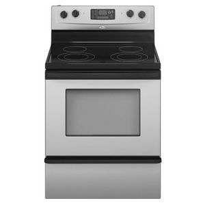 Whirlpool Accubake Freestanding Electric Range
