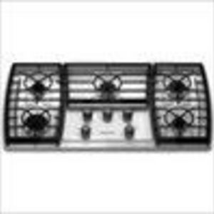 Incroyable KitchenAid KGCK366VSS 38 In. Gas Cooktop