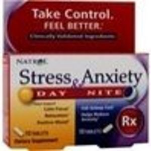 Stress and Anxiety Day and Night 60 tablet (Natrol)