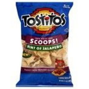 Tostitos - Scoops Tortilla Chips, Hint of Jalapeno