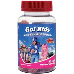Windmill Vitamins Lazytown Go! Kids Multivitamin & Mineral Gummies
