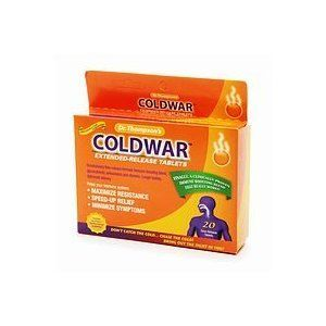 ColdWar Dr. Thompson's Coldwar Extended Release Tablets