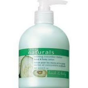 Avon NATURALS Cucumber Melon Hand and Body Lotion