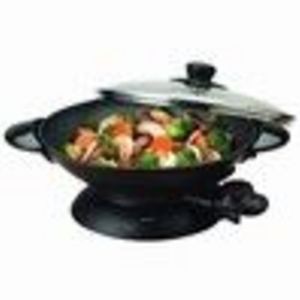 Aroma Coffee AEW-306 Non Stick Electric Wok