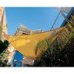 "Coolaroo 11'10"" Triangle Shade Sail with Hardware Kits, Desert Sand"