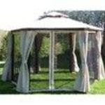 Coolaroo 13-Foot by 11-Foot Victoria Hexagonal Gazebo