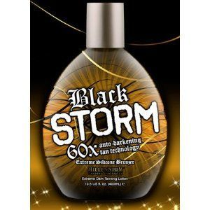 Millennium Tanning Products 2010 Black Storm Premium Tanning Lotion, 60X Extreme Silicone Bronzer