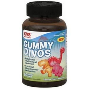 CVS Gummy Dinos Assorted Flavored Multivitamins