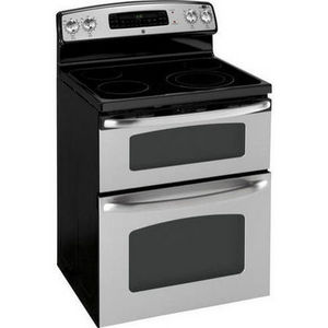 ge free standing electric double oven range jb850spss reviews