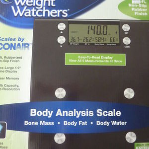 Conair Weight Watchers Scale WW54