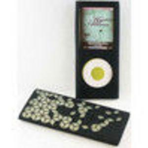 Digital Life Outfitters Digital Lifestyle Outfitters DLA63031/17 Jam Jacket Grafik Case for iPod nano 4G, Laser Cut Cube (Black/...