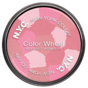 NYC Color Wheel Mosaic Face Powder - Pink Cheek Glow