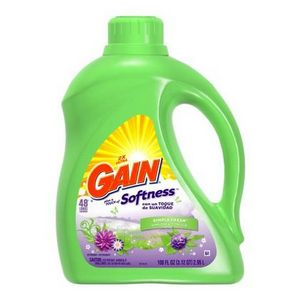Gain 2X Ultra Plus a Touch of Softness Simply Fresh Liquid Laundry Detergent