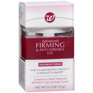 Walgreens Advanced Firming & Anti-Wrinkle Eye Day/Night Cream