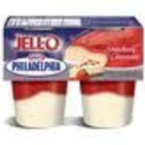 Jell-O Temptations Strawberry Cheesecake