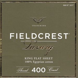 Fieldcrest Egyptian Cotten Sheets