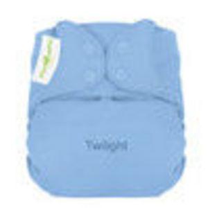 bumGenius Organic One Size Cloth Diaper Snap Closure - Twilight