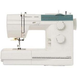 Husqvarna Viking Mechanical Sewing Machine Emerald