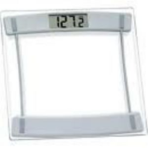 HoMedics Glass and Silver Scale