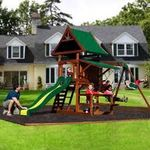 Adventure Playsets Columbia Wooden Swing Set