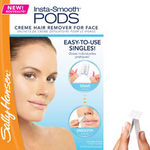 Sally Hansen Insta-Smooth Pods Creme Hair Remover for Face
