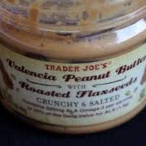 Trader Joe's Organic Valencia Peanut Butter (Crunchy with Salt)
