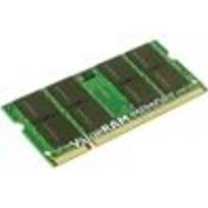 Kingston - Memory - - SO DIMM 200-pin - DDR II - 667 MHz / PC2-5300 - unbuffered 1 GB DDR2 RAM (KTH-ZD8000B/1G)