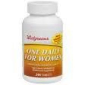 Walgreens One Daily Healthy Weight High Potency Multivitamin Multimineral Supplement