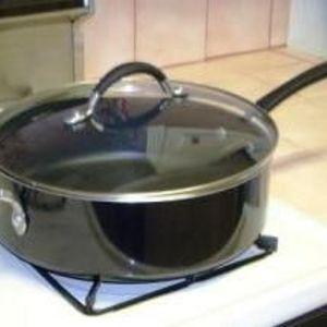 Better Homes and Gardens 5 Quart Porcelain-Aluminum Covered Skillet