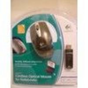 Logitech Cordless Optical Mouse for Notebooks 9311521403