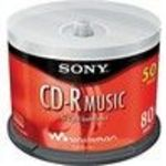 Sony (50CRM80LS2T) CD-R Storage Media (50 Pack)