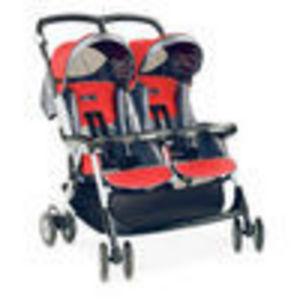 Peg Perego ARIA TWIN Standard Stroller - Metallica