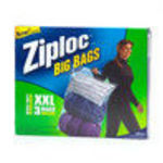 Johnson Furniture Ziploc 3 Pack Xxl Heavy Duty Big Bag #65645