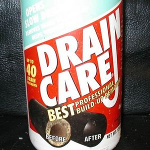 Enforcer Drain Care professional Build-Up Remover