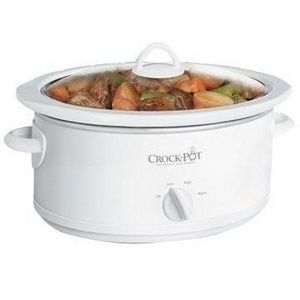Crock-Pot 5.5-Quart Oval Manual Slow Cooker