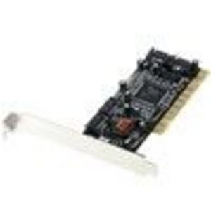 Port Designs 4 Port SATA Serial ATA PCI RAID Card - Silicon Image (2667) Storage Controller