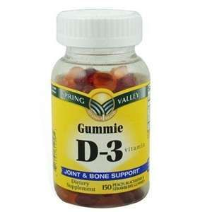 Spring Valley Gummie D-3 Vitamin