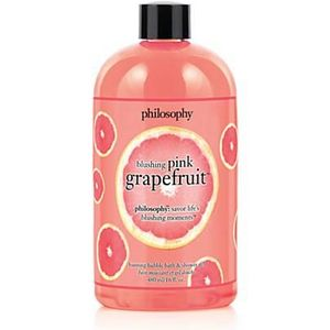 Philosophy Blushing Pink Grapefruit Bubble Bath and Shower Gel