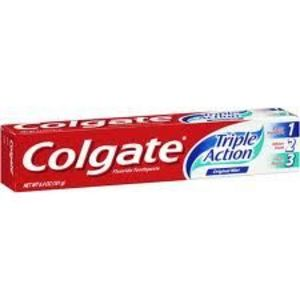 Colgate Triple Action Flouride Toothpaste Original Mint