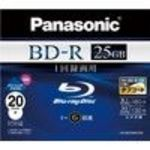 Panasonic Blu-ray Disc - 25GB 6X BD-R - 2010 Version (LMBR25MH20N) Media (20 Pack)