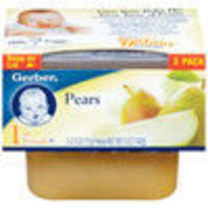 Gerber First Foods Pears