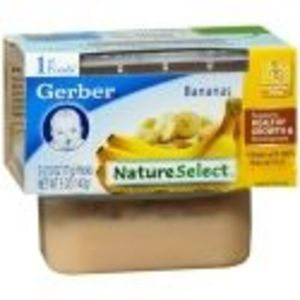 Gerber First Foods Nature Select Bananas