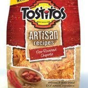 Tostitos - Artisan Recipes Fire Roasted Chipotle Tortilla Chips