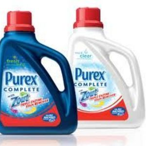 Purex Complete with Zout Liquid Laundry Detergent