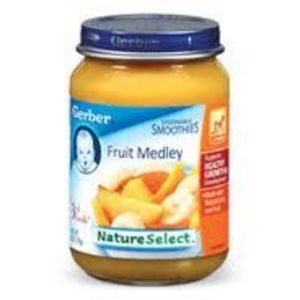 Gerber Fruit Medley 3rd Foods
