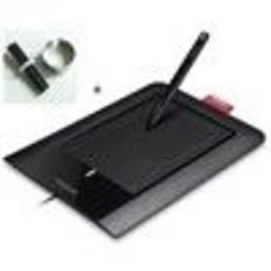 Wacom Bamboo Pen Graphics Tablet CTL460 + 5 Replacement Nibs Set (CTL460KIT)