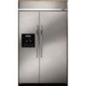 Dacor 29.7 cu. ft. Side-by-Side Refrigerator EF48DBSS