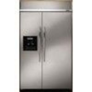 Dacor Epicure EF42DBSS (25.3 cu. ft.) Side by Side Refrigerator