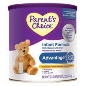 Parent's Choice Advantage Infant Formula